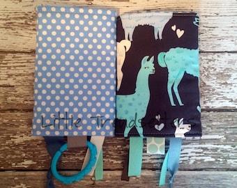 Alpaca Hearts Drool Pads