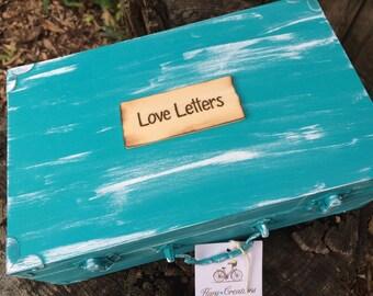 Country Chic Barnyard Love Letter box Memory box Christmas gift