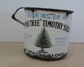 Antique Advertising Tin, Dickinson's Enamelware