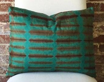 Inka Tie Dye Pillow w/ down insert - #4