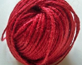 Red Jute Twine