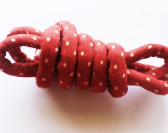 fabric cord, jewelry cord, craft cord, fabric rope, rope jewelry, necklace rope, fabric necklace, diy jewelry, diy necklace mc114
