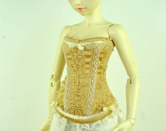 Sunlight Promises BJD Art Line Corset for Fairyland Minifee MSD