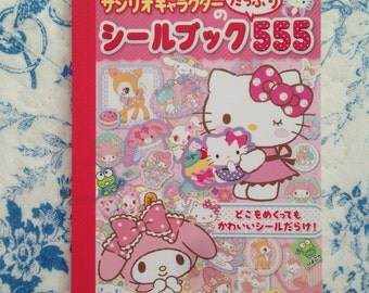 Sanrio sticker boook