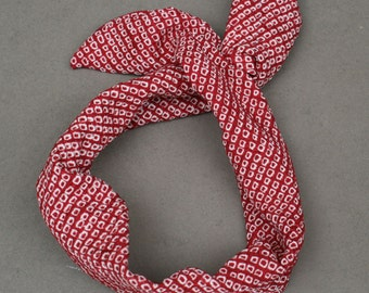 Wired hairband RED