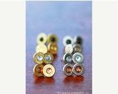 PRESIDENTS DAY SALE Bullet Stud Earrings