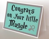 Baby Colors, or choose your house colors-Congrats on your little Muggle-Harry Potter Inspired