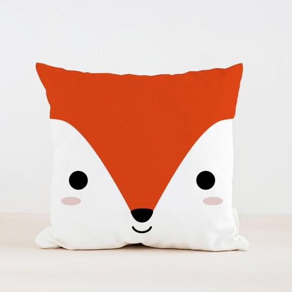 Animal Pillows For Nursery : Animal Fox Pillow Nursery Cushion Kids Pillow Cushion