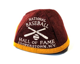 National Baseball Hall of Fame Cooperstown New York Maroon Beanie