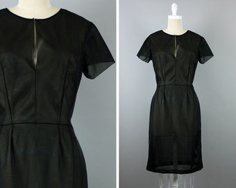 1960s Sheer Dress --> 1960s Dress --> 1960s Vintage Dress -->  60s Dress --> Vintage Black Dress --> 1960 Dress --> Vintage Cocktail Dress
