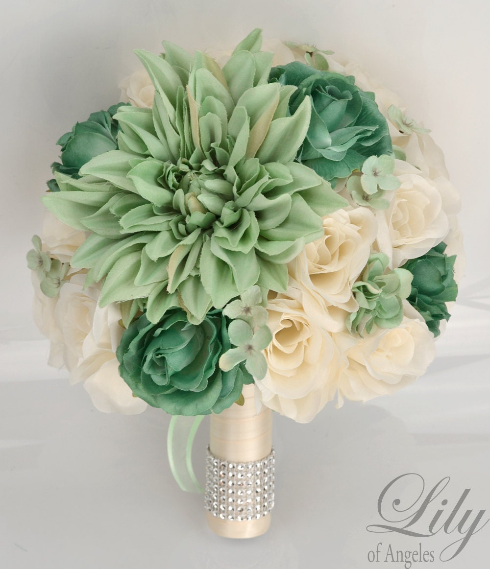wedding bouquet packages wedding bridal bouquets 17 package silk flowers 8472