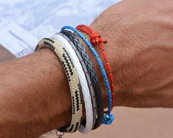 Men's Bracelet SALTI Stack Nautical Bracelet 4 bracelets