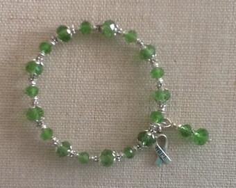 052 Liver/Gallbladder/Bile Duct Cancer Awareness Bracelet