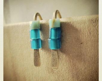 Mini Brass Boho Earrings