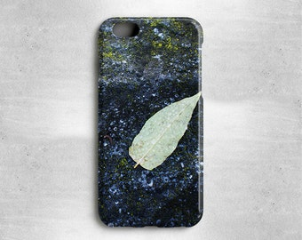 iPhone 7 Green Leaf Phone Case - Stocking Stuffer for iPhone 6S, iPhone 6, iPhone 5s, iPhone 5c, iPhone 5, iPhone 4s, iPhone SE & more