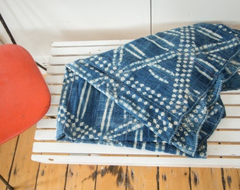 DISCOUNTED 3x5 Vintage African Textile Throw