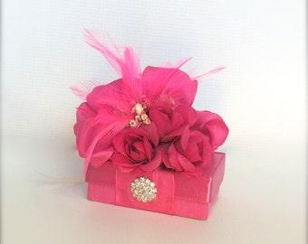 Gift Box Jewelry Gift Box Fuchsia Gift BoxesWedding Favor  Box Gift Ideas Birthday Gift Gift Ideas Wedding Party Gifts Prewrapped Boxes