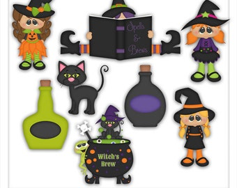 Halloween Witches Brew 1 Clipart (Digital Download)