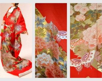 sale veste kimono japonais homme vintage par alltravelerstore. Black Bedroom Furniture Sets. Home Design Ideas