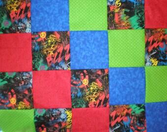 Avengers Patchwork Quilt