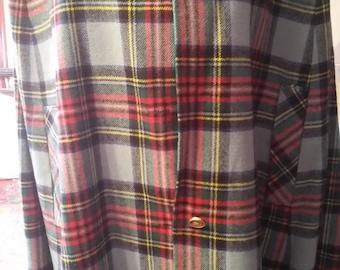 Clan Laird Cape wool large vintage