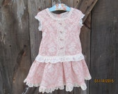 Girls Easter dress,  Birthday Dress, spring dress, availabe to order 12mos, 18mos 2T,3T,4T,5t