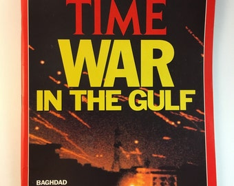 War in The Golf / Red / Time Magazine