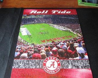 Roll Tide Alabama Football Jigsaw Puzzle