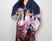 Boho Maxi Dress - Summer Dress - Kaftan Dress : Funky Elegant Collection No.1
