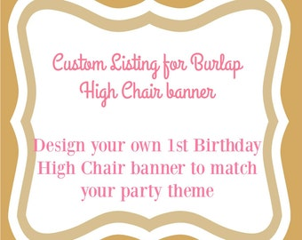 Custom Birthday Decorations - Custom Birthday Banner - Boy Birthday Banner - custom cake smash set - Cake smash props - boy first birthday