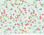 Floribella - Floral Blue by Emily Taylor from Riley Blake