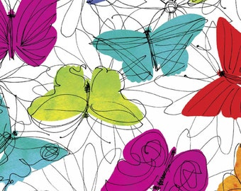 Funky Floral Butterfly from Springs Creative