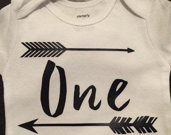 Baby boy One Year Shirt
