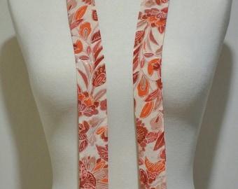 Vintage Kimono Silk Scarf, Necktie, Skinny Scarf, Obi, Sash