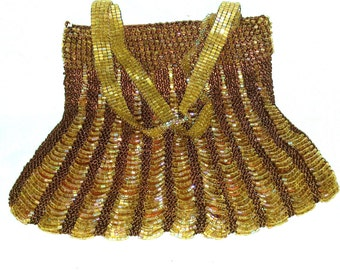 Vintage Beaded Evening Bag Newport News