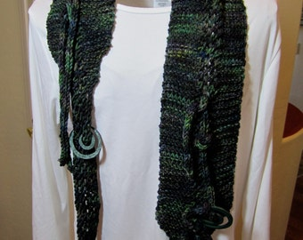 Green Bean Scarf