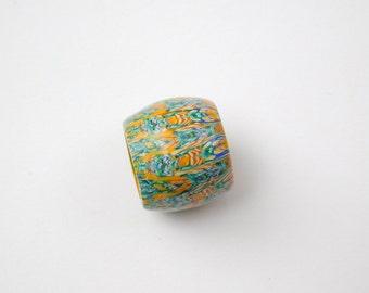 Polymer Clay Dread Bead with 13 mm bead hole