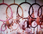 """Dream Catchers Hangs approx 17-19"""" - 5 colors to pick from- NOW on SALE"""