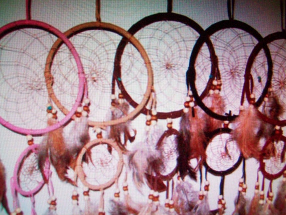 "Dream Catchers Hangs approx 17-19"" - 5 colors to pick from- NOW on SALE"