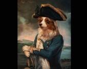 Custom 11x14 Royal Pet Portrait