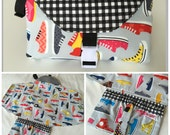 Sneakers Changing Pad Diaper Clutch