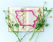 Iowa state cut out