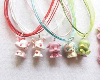 10 Little Pets Necklaces Party Favors.