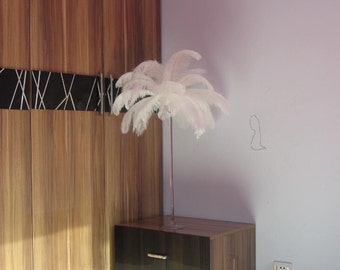 100  White Ostrich Feather Plume for Wedding centerpieces AA quality