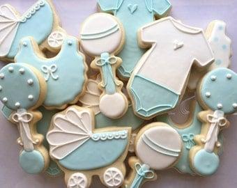 2 dozen Baby Shower Cookies