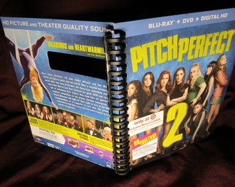 Pitch Perfect 2 DVD outer sleeve notebook