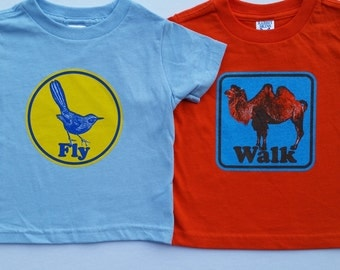 Camel Walk and Mockingbird youth kids Phish-inspired lot tee shirts - Trey, Grateful Dead, Jerry Garcia, hippie, shakedown, lot shirt
