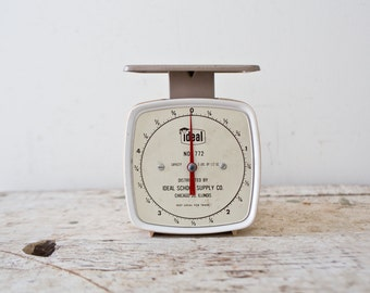 Vintage Scale by Ideal Scale Vintage Weight Vintage Weighing Scale Chicago Illinois