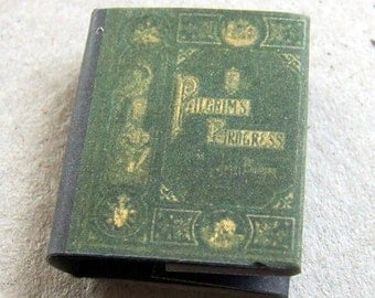 Dolls House Miniature Pilgrims Progress Book