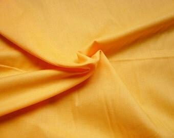 Voile de coton - jaune - 50 cm